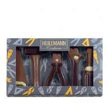 Heilemann Milk Chocolate Tools Set  100g